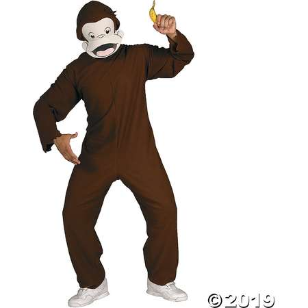 Men's Curious George Costume thumb