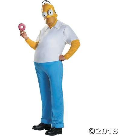Men's Deluxe The Simpsons Homer Simpson Costume thumb