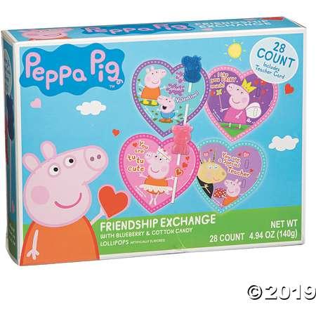 Princess Peppa Pig™ Lollipop Friendship Valentine Exchange thumb