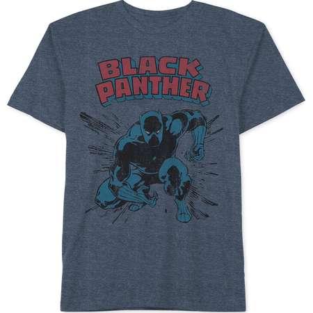 Little Boys Black Panther Graphic-Print T-Shirt thumb