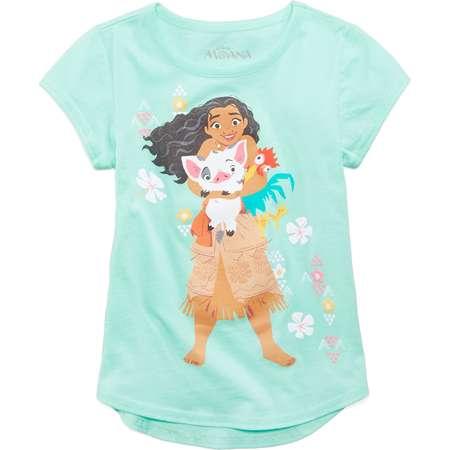 Disney Moana & Friends Cotton T-Shirt, Little Girls thumb