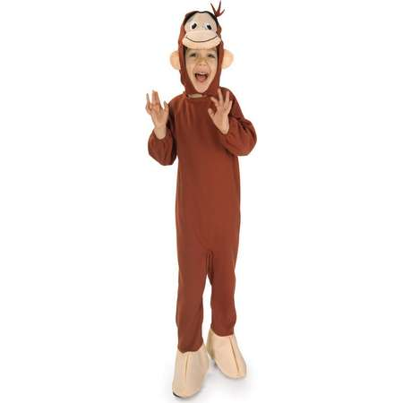 Curious George Toddler Boys or Girls Halloween Costume thumb