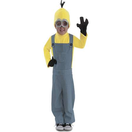 Minions Bob Jumpsuit Little Boys Halloween Costume thumb