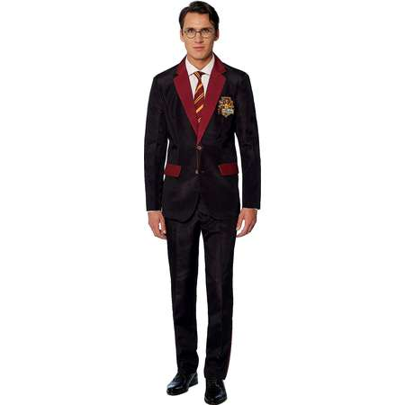 Adult Gryffindor Party Suit - Harry Potter thumb