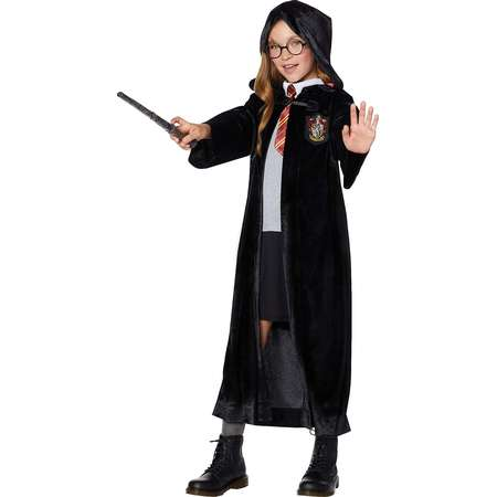 Kids Velvet Gryffindor Robe - Harry Potter thumb