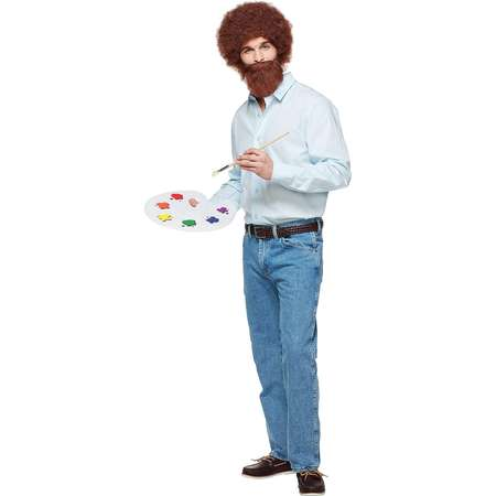 Adult Bob Ross Costume - Firefly thumb