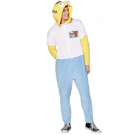 Homer Simpson Pajama Costume - The Simpsons thumb