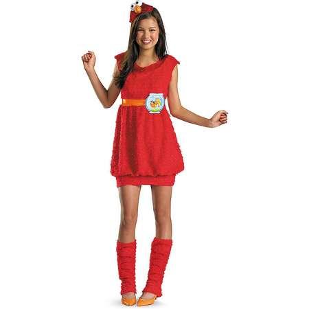 Tween Elmo Dress Costume - Sesame Street thumb