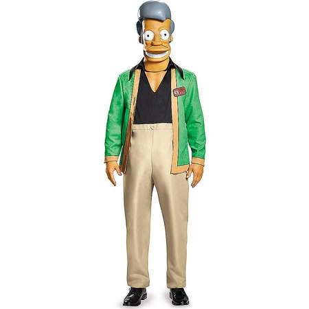 Adult Apu Costume Deluxe - The Simpsons thumb